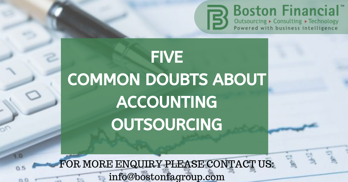 Five common doubts about accounting outsourcing
