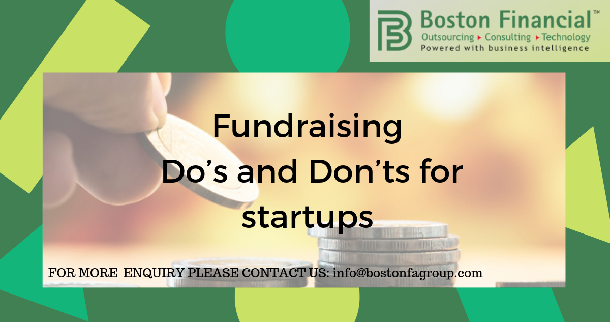 Fundraising – Do's and Don'ts for startups