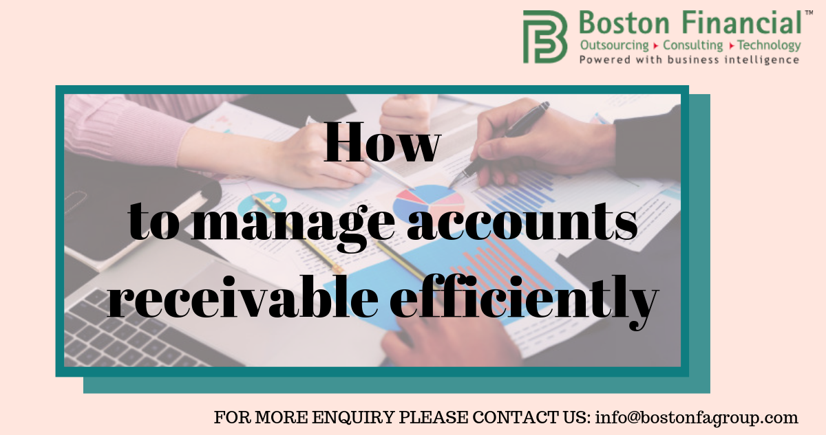 How to manage accounts receivable efficiently