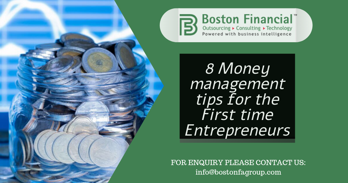 8 Money management tips for the First time Entrepreneurs