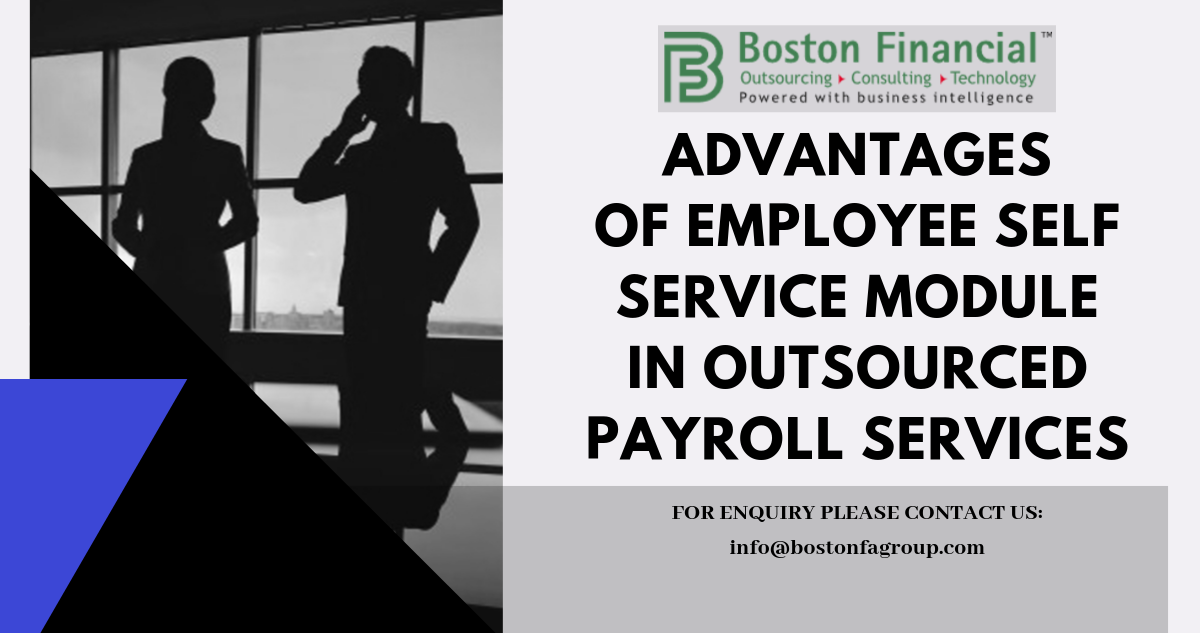 Advantages of Employee Self Service Module in Outsourced Payroll Services