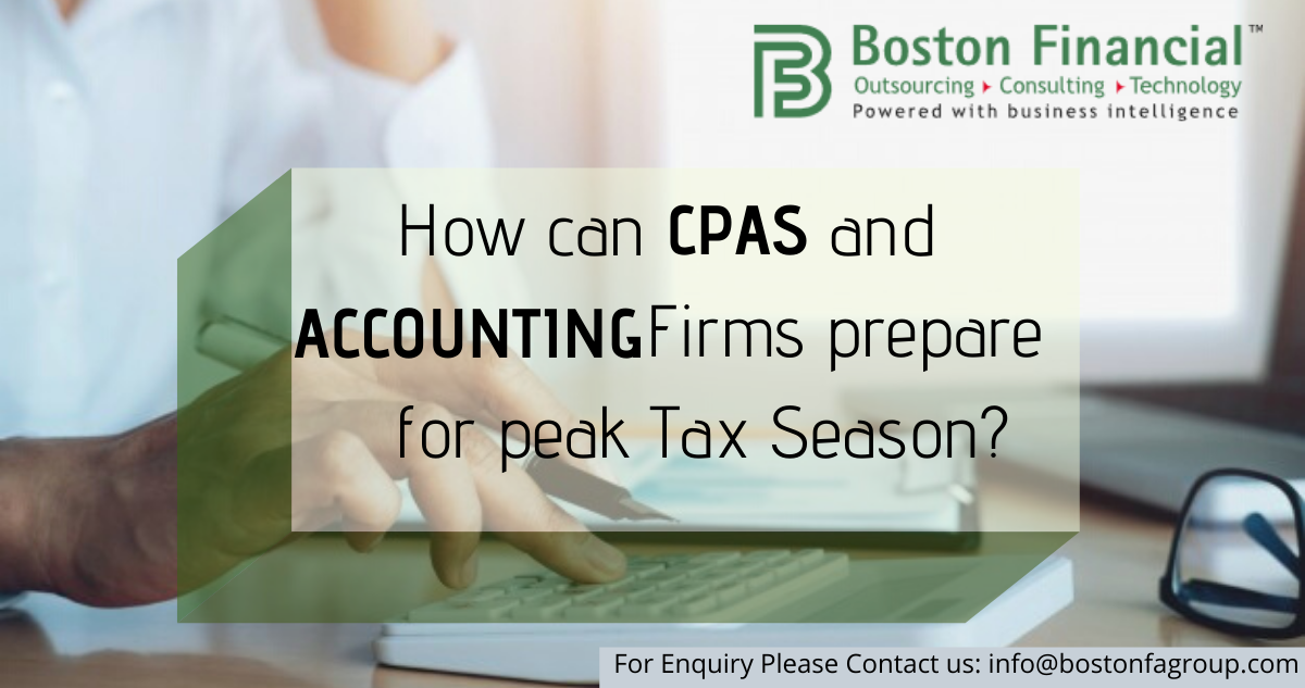 How can CPAs and Accounting Firms prepare for peak Tax Season