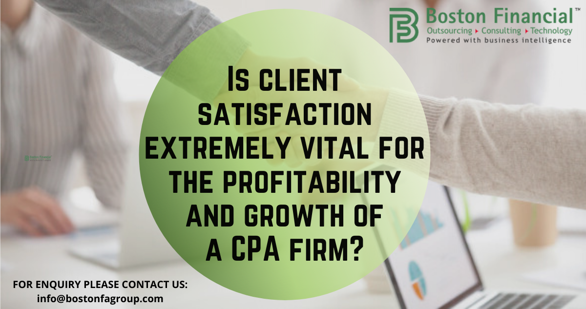 Is client satisfaction extremely vital for the profitability and growth of a CPA firm (2)