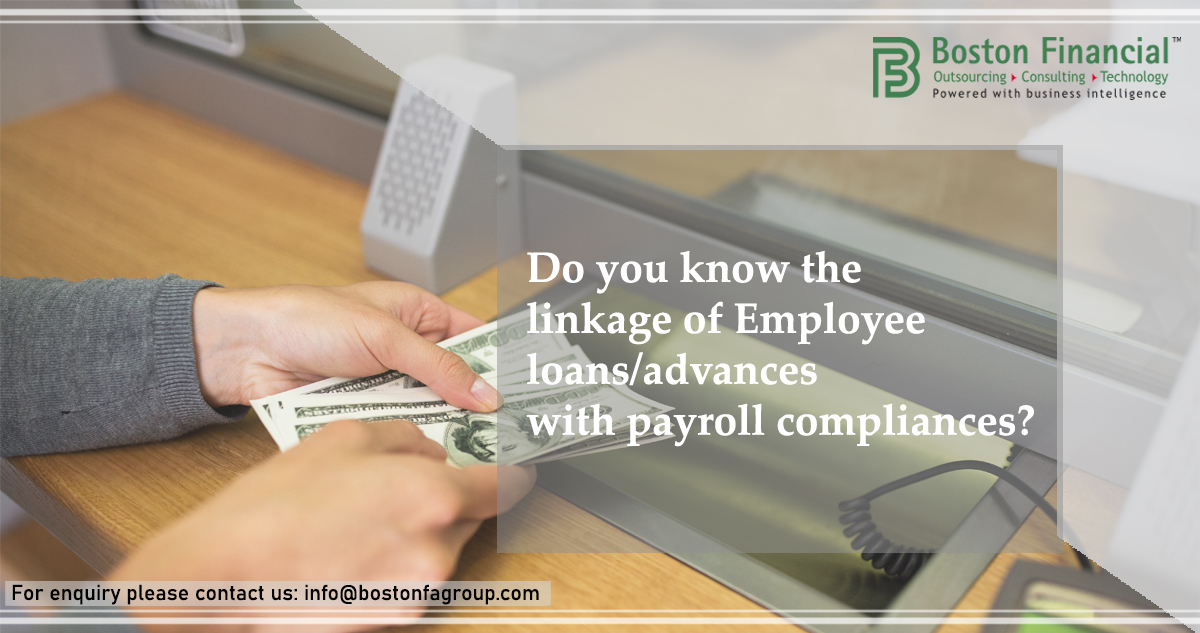 Do you know the linkage of employee loans/advances with payroll compliance?