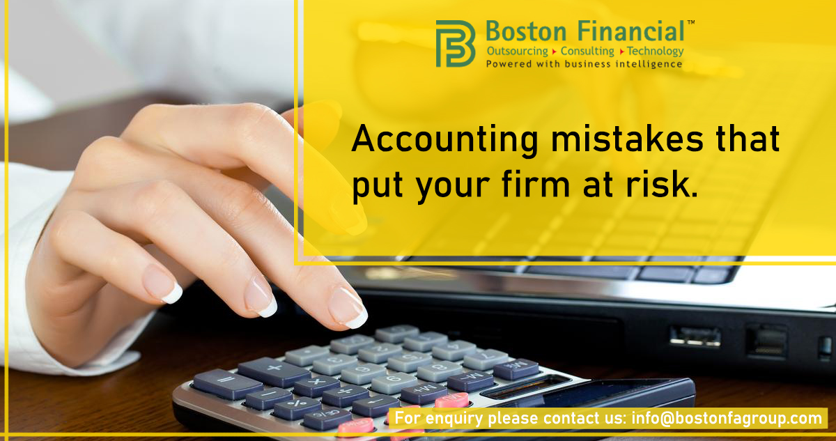Accounting mistakes that put your firm at risk